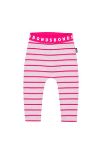 Bonds Baby Stretchies Ribbed Leggings - Candy Stripe