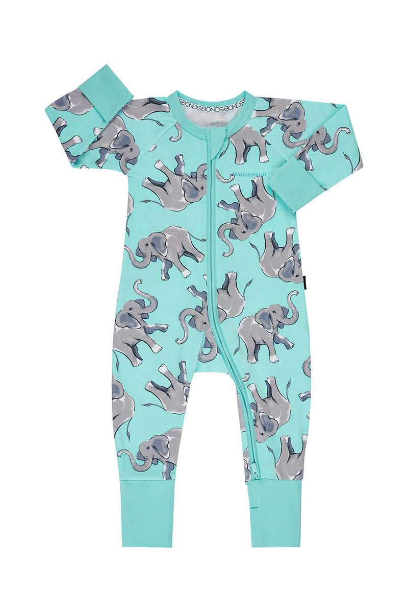 Bonds Baby Zippy Wondersuit - Pop Elephant Jazmint