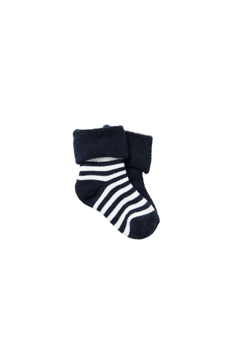 Bonds Baby Wondersocks 2 Pack Navy