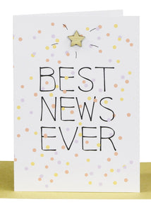Greeting Card - Best News Ever