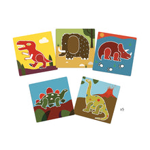 Load image into Gallery viewer, Creative Stencil Set - Dinosaurs