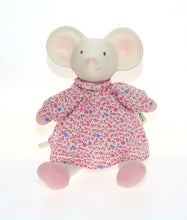 Load image into Gallery viewer, Meiya the Mouse Floral Plush Teether Toy