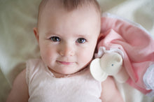 Load image into Gallery viewer, Meiya the Mouse Snuggly Teether Comforter