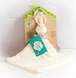 Havah the Bunny Snuggly Teether Comforter