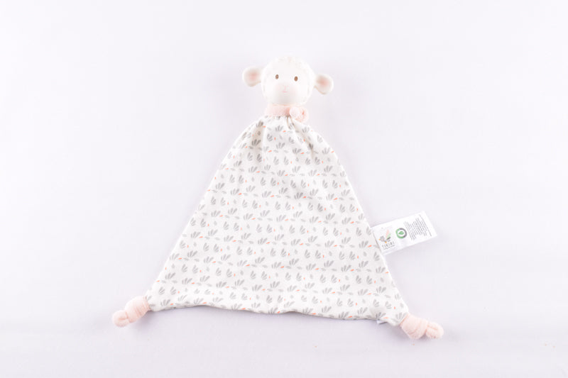 Lila Lamb Pink Soft Comforter with Rubber Head