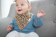 Load image into Gallery viewer, Copper Pearl Bandanna Bibs 4 Pack - Zara