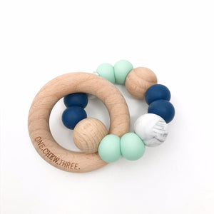 Marble Teether & Rattle
