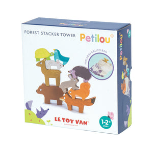 Forest Stacker Tower Wooden Set