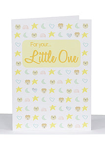 Greeting Card - For Your Little One
