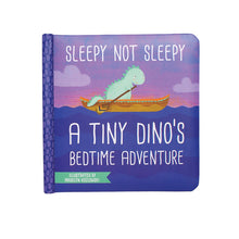 Load image into Gallery viewer, Sleepy Not Sleepy Chomp Dinos Bedtime Book