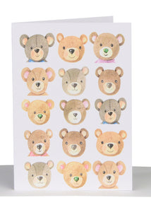 Greeting Card - Teddy Bears