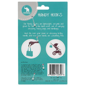 All4Ella Handy Hooks - Silver