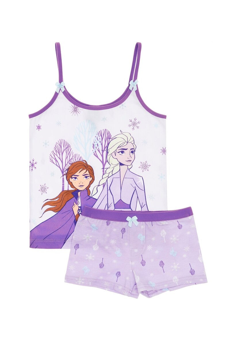 Disney Frozen Cami Singlet & Short Set