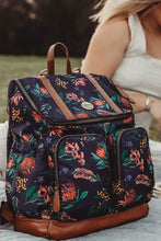Load image into Gallery viewer, Nappy Backpack - Botanical Floral