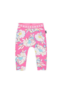 Bonds Baby Stretchies Leggings - Rainbow Garden Pink