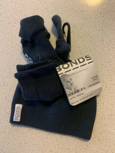 Load image into Gallery viewer, Bonds Baby Newbies Newborn Hat, Mittens & Booties Set - Charcoal