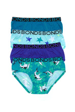 Load image into Gallery viewer, Bonds Kids Boys Brief 4 Pack