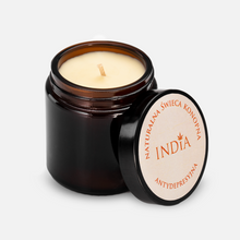 Load the image in the gallery, The hemp candle with patchouli