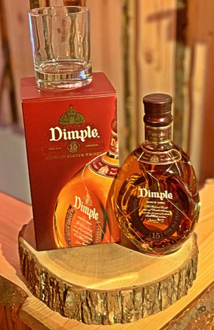 Dimple 15 years Whiskey
