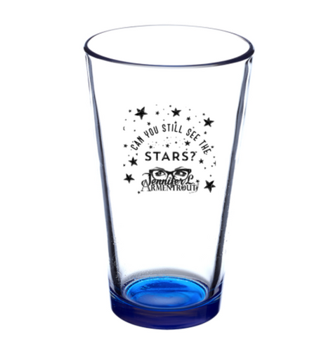CAN YOU SEE THE STARS Pint Glass