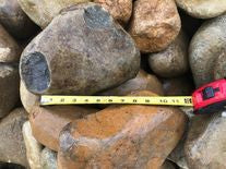 CROOKED CREEK™ LARGE 4-7 INCH BROWN RIVER ROCK