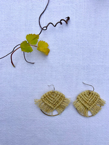 Tapestry Earrings - BOTANICAL