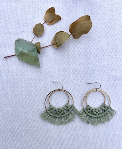 Lotus Earrings - BOTANICAL