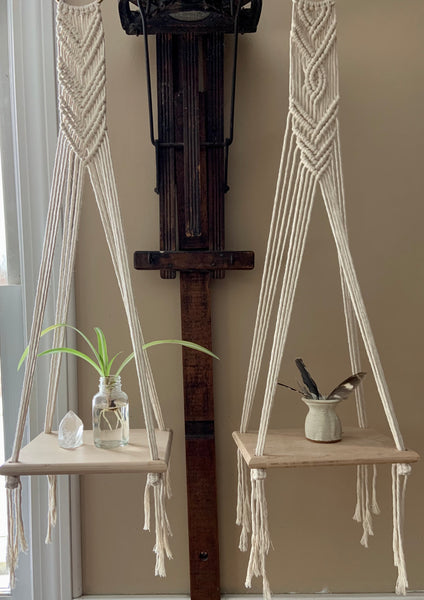 Sm. Hanging Shelf - Chevron