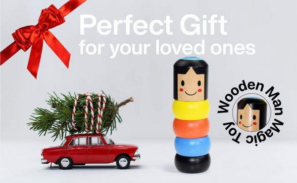 Wooden Stubborn Man Toy is the perfect gift