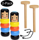 Wooden Stubborn Man Toy (2PACK) - Premium quality - Trending2