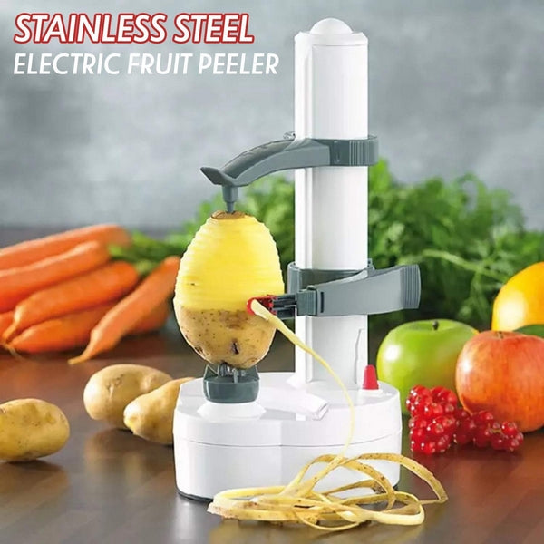 Stainless steel electric fruit peeler - Trending2