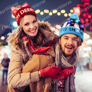 Christmas LED Beanie Hats - Trending2