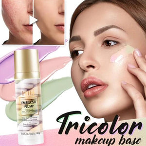 Tricolor Makeup Base - Trending2