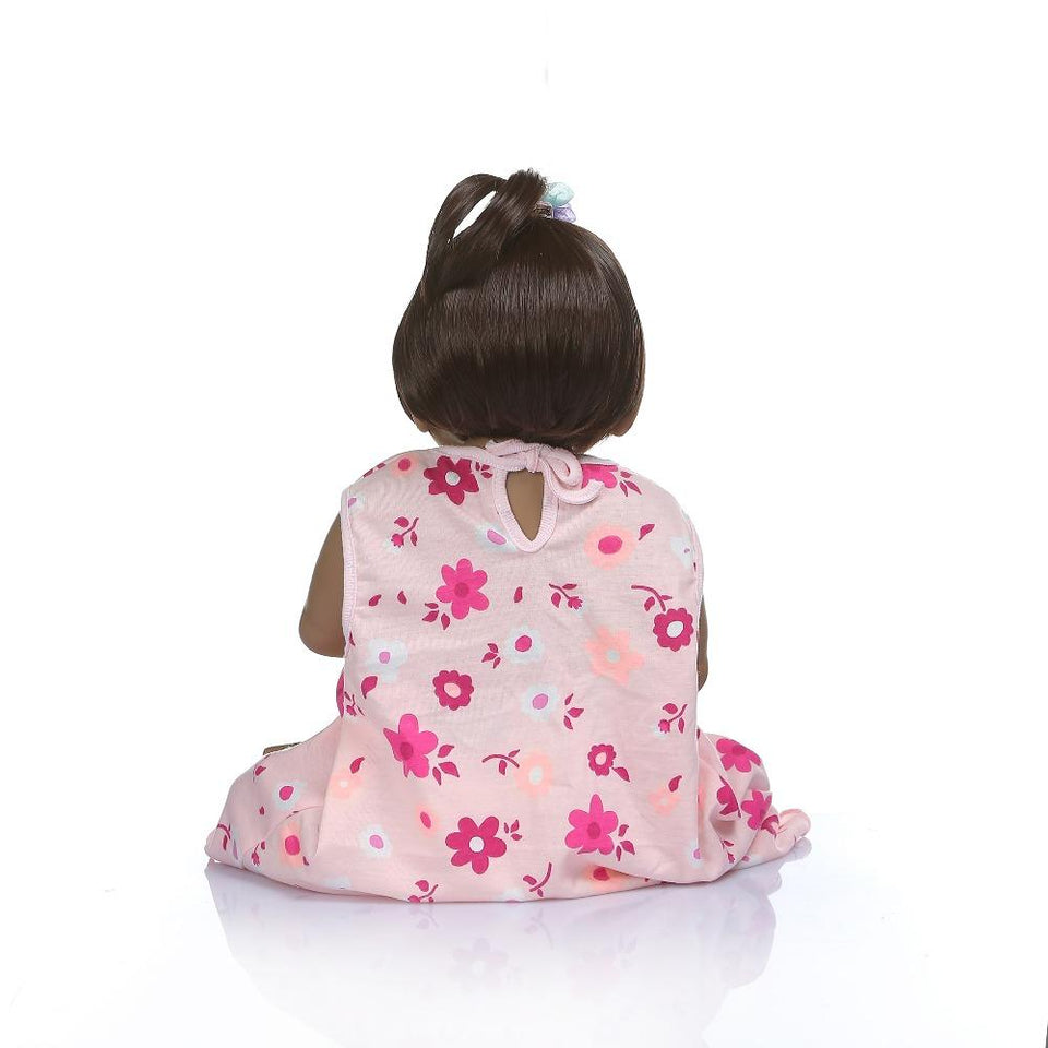 full body silicone baby girl african american - Trending2