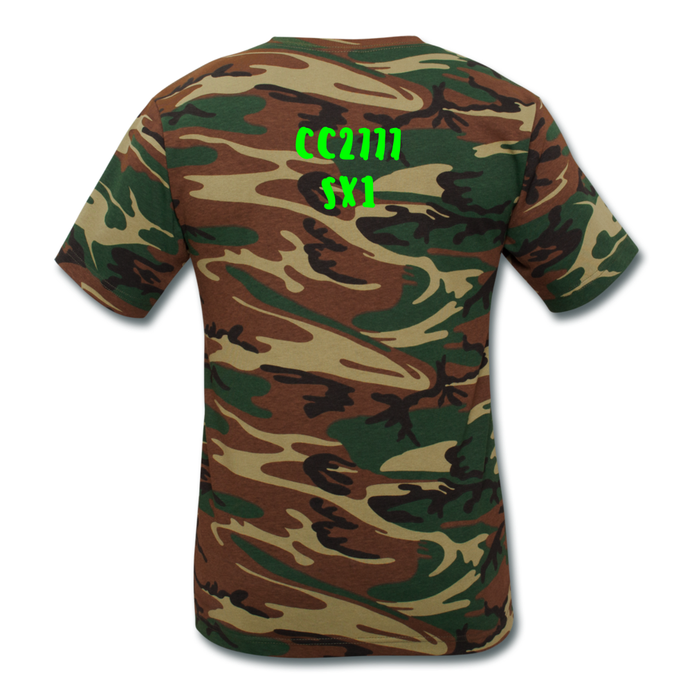 SX1 CC2777 Support Our Troops T - green camouflage
