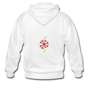 SX1 CC2777 Let it Snow Limited Edition Variation Hoodie - white