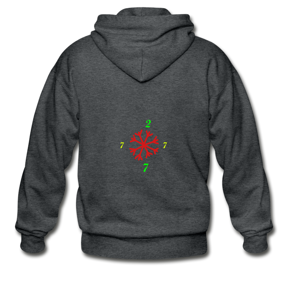 SX1 CC2777 Let it Snow Limited Edition Variation Hoodie - deep heather