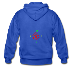 SX1 CC2777 Let it Snow Limited Edition Variation Hoodie - royal blue