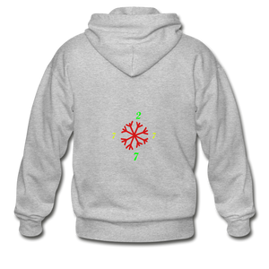 SX1 CC2777 Let it Snow Limited Edition Variation Hoodie - heather gray