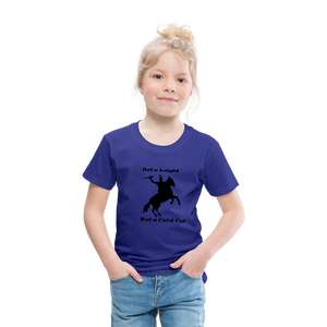 Toddler Cut It T - royal blue