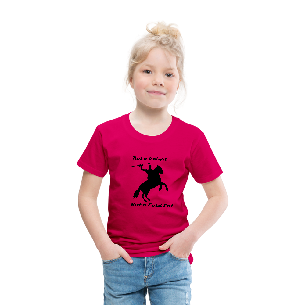 Toddler Cut It T - dark pink