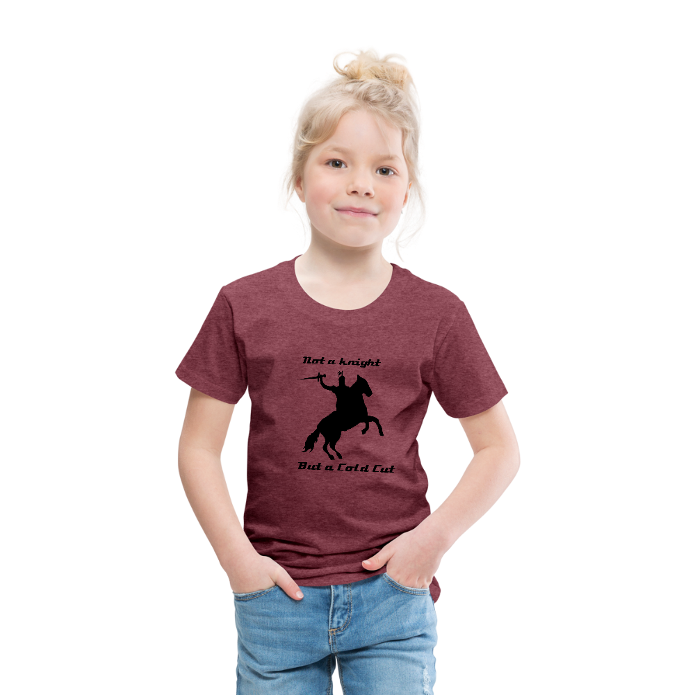 Toddler Cut It T - heather burgundy