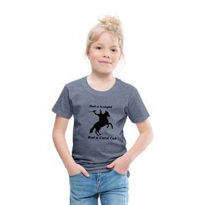 Toddler Cut It T - heather blue