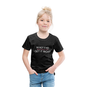 Im on a Hunt Toddlers T - charcoal gray