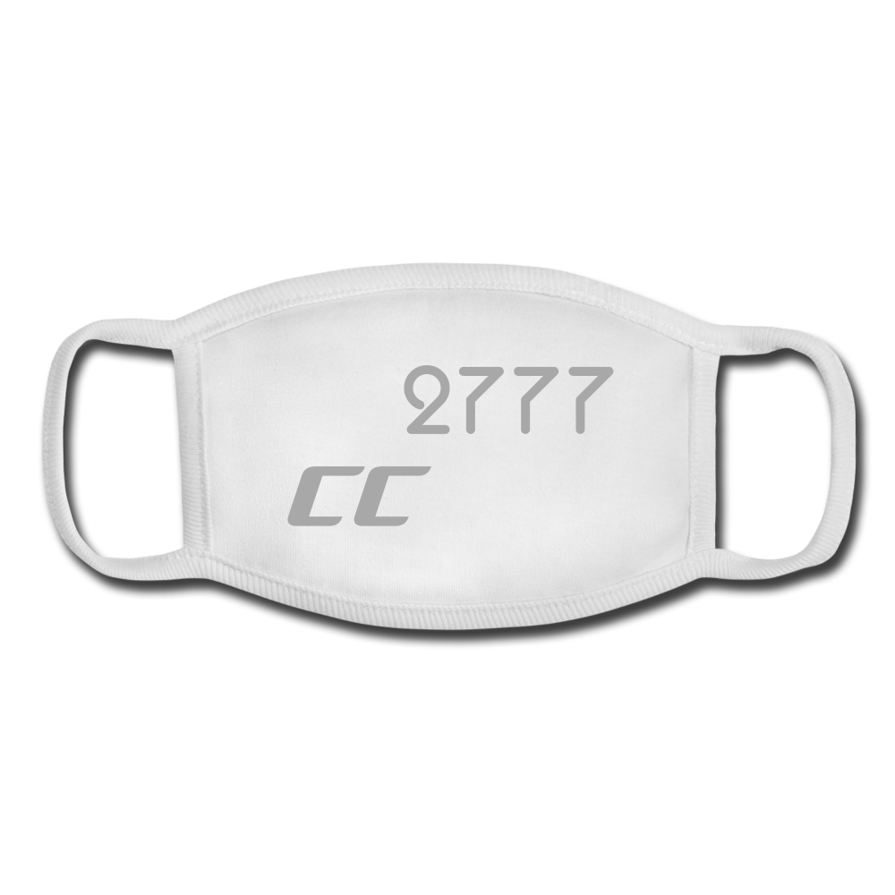 CC2777 Youth Face Mask - white/white