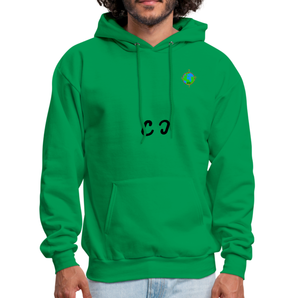 Double C's Men's Hoodie - kelly green