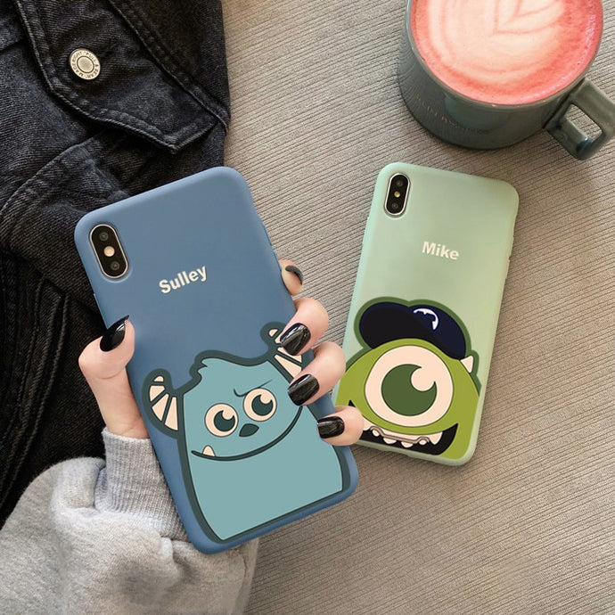 Cover cartoon - Monster's University - per iPhone 6 S 6S 7 8 Plus X XS MAX XR 11 Pro MAX