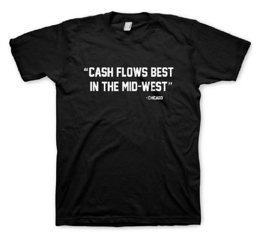 My Privado Life Cash Flows Chicago BLACK Tee