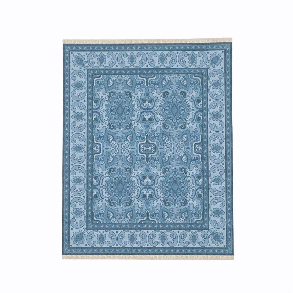 Audrey Dollhouse Rug in Navy - Life In A Dollhouse