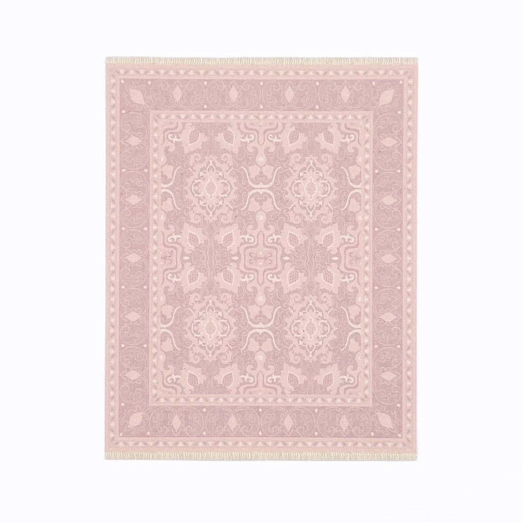 Audrey Dollhouse Rug in Blush Pink